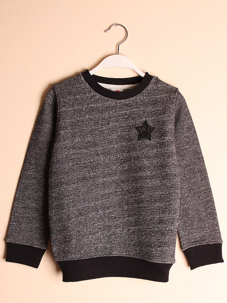 State of Kids Houston Sweatshirt - Siyah Rockstar