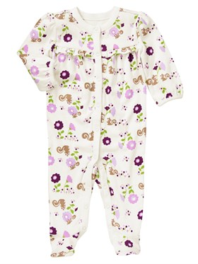 Gymboree Purple Flower Tulum