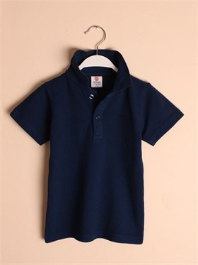 State of Kids Florida Polo T-Shirt-Lacivert