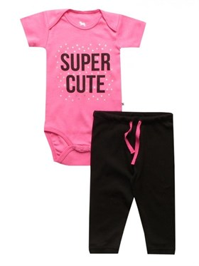 Bebeque Super Cute Set - Pembe