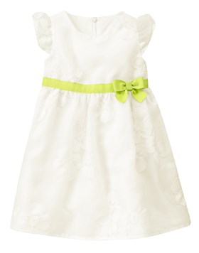 Gymboree White Angel Elbise