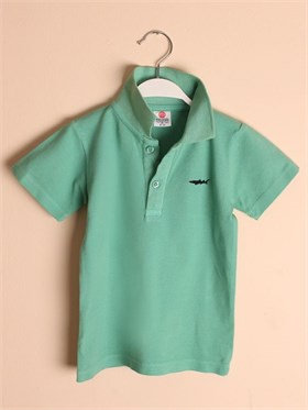State of Kids Florida Polo T-Shirt-Yeşil