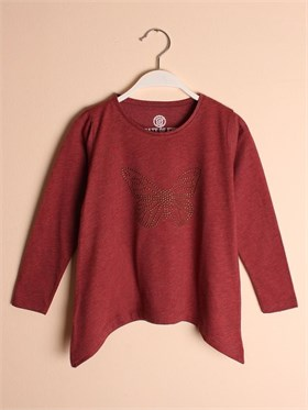 State of Kids Tunik - Kelebek - Bordo Melanj