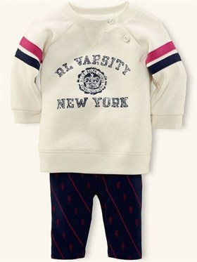 Ralph Lauren Sweatshirt Tayt Set