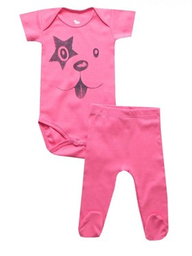 Bebeque Sweet Dog Set - Pembe
