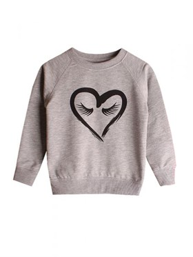 Bebeque Lolo Happy Heart Sweatshirt