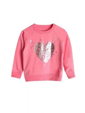 Bebeque Lolo Shiny Hearts Sweatshirt