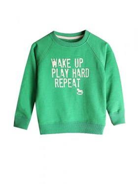 Bebeque Lolo Wake Up Sweatshirt