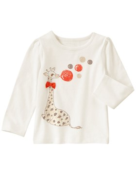 Gymboree Happy Giraffe Sweatshirt